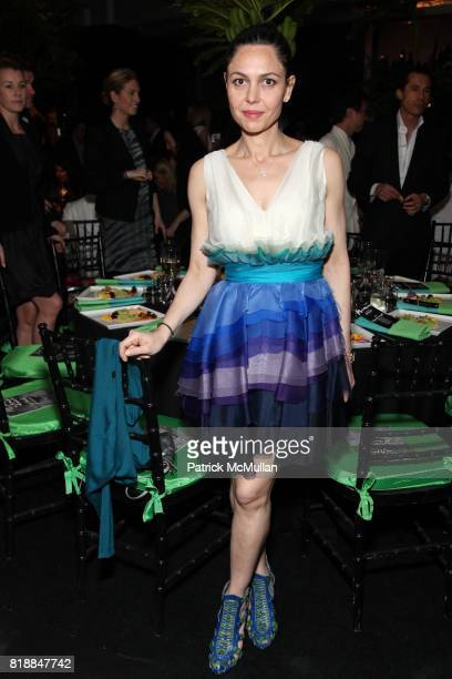 Anna Condo attend New Museum Spring Gala and After Party Sponsored by Interview Magazine Melissa Shoes and Prairie Vodka at 7 World Trade on April...
