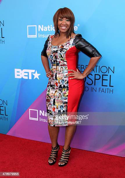 Anna Crawley attends the BET Celebration of Gospel 2014 at Orpheum Theatre on March 15 2014 in Los Angeles California