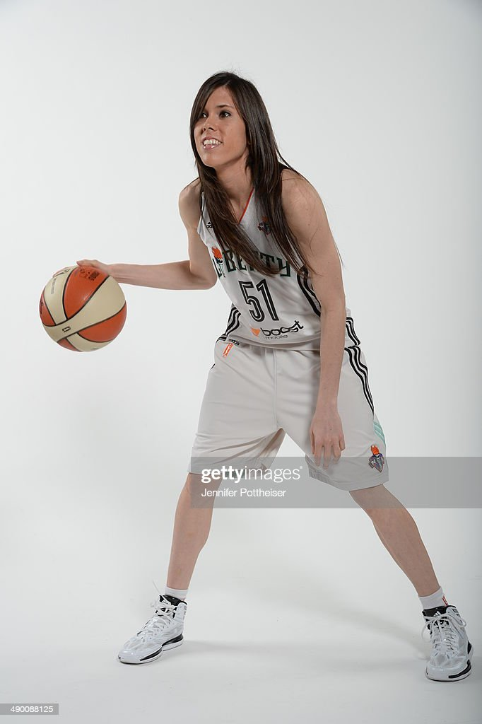 Anna Cruz #51 of the New York Liberty poses for a portrait during 2014 WNBA Media Day at the MSG Training Facility on May 12, 2014 in Tarrytown, New York.