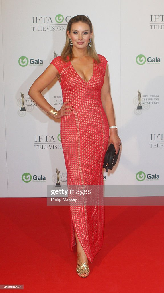 Anna Daly attends the IFTA Gala Television Awards on October 22, 2015 in Dublin, Ireland.