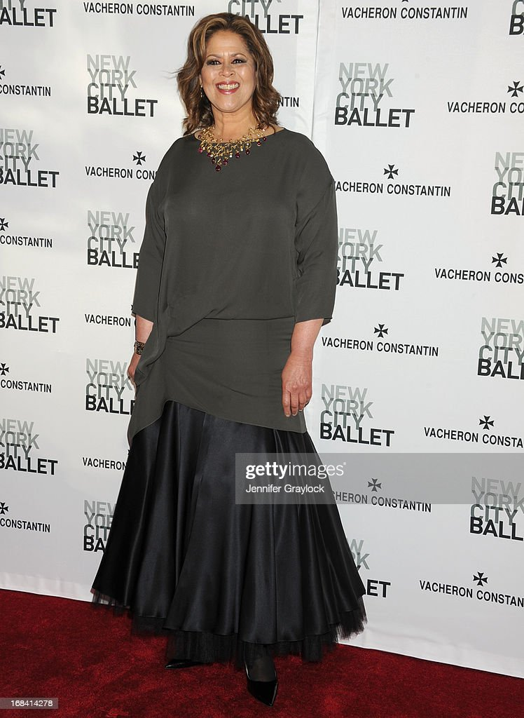 Anna Deavere Smith attends the New York City Ballet's Spring 2013 Gala at David H. Koch Theater, Lincoln Center on May 8, 2013 in New York City.