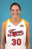 Anna DeForge of the Indiana Fever poses for a portrait during the WNBA Media Day at Conseco Fieldhouse on May 8 2006 in Indianapolis Indiana NOTE TO...