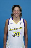 Anna DeForge of the Phoenix Mercury poses for a portrait during Media Day at America West Arena on May 17 2003 in Phoenix Arizona NOTE TO USER User...