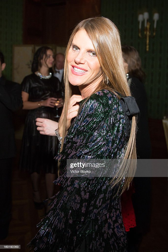 Anna dello Russo attends 'CR Fashion Book Issue 2' - Carine Roitfeld Cocktail as part of Paris Fashion Week at Hotel Shangri-La on March 5, 2013 in Paris, France.