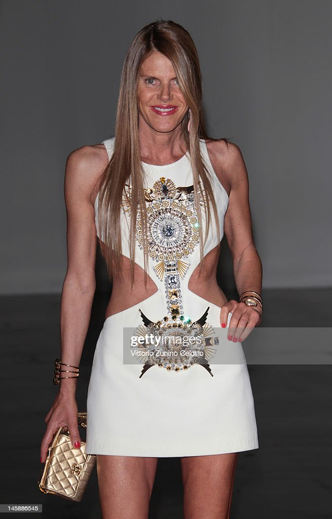 Anna dello Russo attends the 2012 Convivio charity gala event on June 7, 2012 in Milan, Italy.