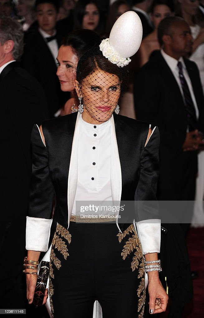Anna Dello Russo attends the 'Alexander McQueen: Savage Beauty' Costume Institute Gala at The Metropolitan Museum of Art on May 2, 2011 in New York City.
