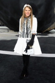 Anna Dello Russo attends the Chanel Fall/Winter 2013 ReadytoWear show as part of Paris Fashion Week at Grand Palais on March 5 2013 in Paris France