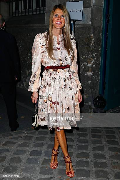 Anna dello Russo attends the Givenchy show as part of the Paris Fashion Week Womenswear Spring/Summer 2015 on September 28 2014 in Paris France