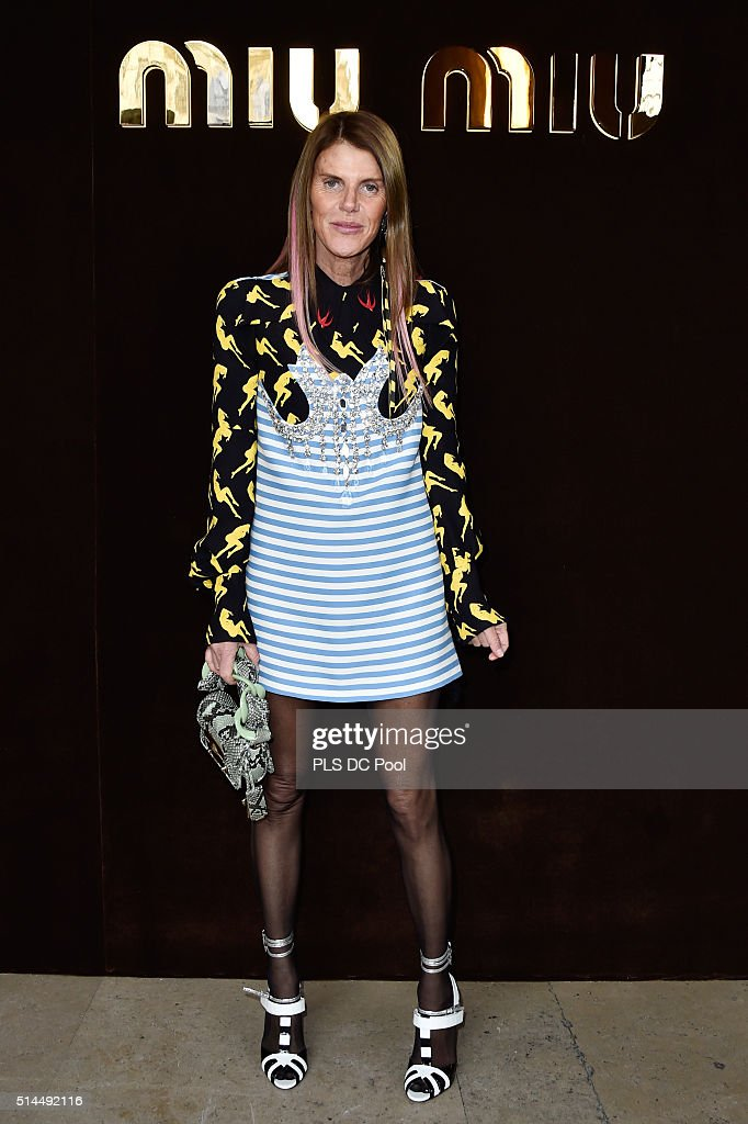 Miu Miu : Arrivals - Paris Fashion Week Womenswear Fall/Winter 2016