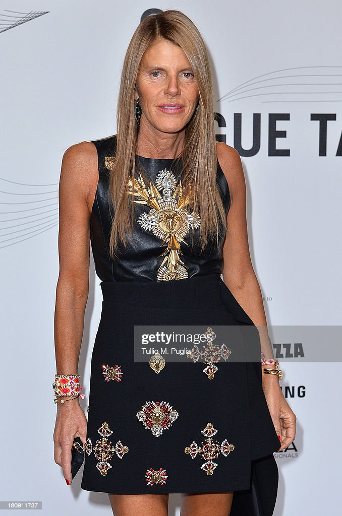 <a gi-track='captionPersonalityLinkClicked' href=/galleries/search?phrase=Anna+Dello+Russo&family=editorial&specificpeople=4391772 ng-click='$event.stopPropagation()'>Anna Dello Russo</a> attends 'Who is On Next? & Vogue Talents' event at Palazzo Morando on September 17, 2013 in Milan, Italy.