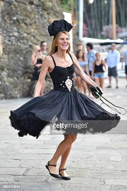 Anna Dello Russo is seen on July 11 2015 in Portofino