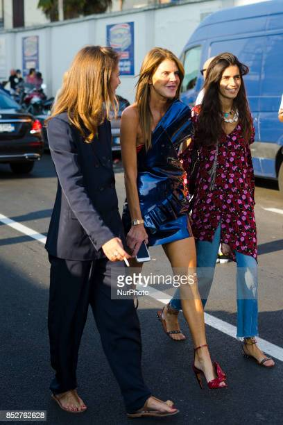 Anna dello Russo is seen outside Missoni during Milan Fashion Week Spring/Summer 2018 on September 23 2017 in Milan Italy