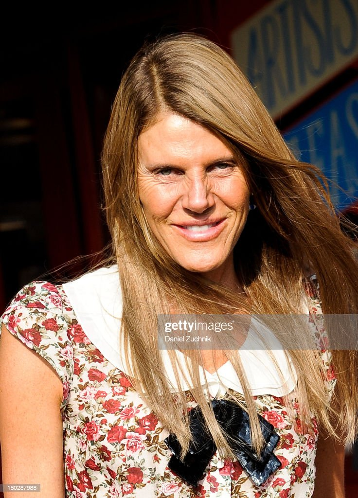 <a gi-track='captionPersonalityLinkClicked' href=/galleries/search?phrase=Anna+Dello+Russo&family=editorial&specificpeople=4391772 ng-click='$event.stopPropagation()'>Anna Dello Russo</a> is seen outside the Marc by Marc Jacobs show on September 10, 2013 in New York City.