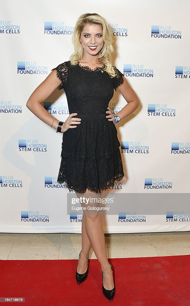 Anna Demidova attends the 2nd Annual Blue Horizon Foundation Gala at Guastavino's on October 15, 2013 in New York City.