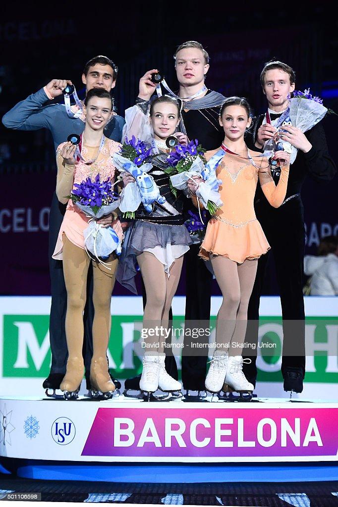Екатерина Борисова-Дмитрий Сопот Anna-duskova-and-martin-bidar-of-czech-republic-and-silver-medal-picture-id501106598