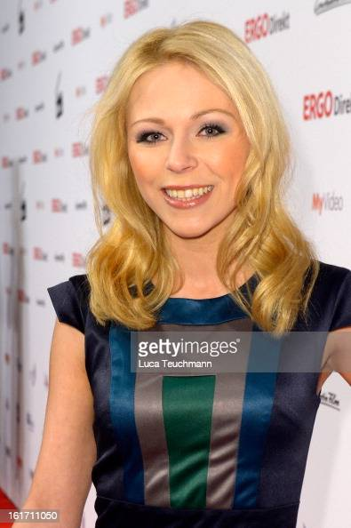 Anna Ewelina attends the 5th '99FireFilmsAward' Red Carpet Arrivals at Admiralspalast on February 14 2013 in Berlin Germany
