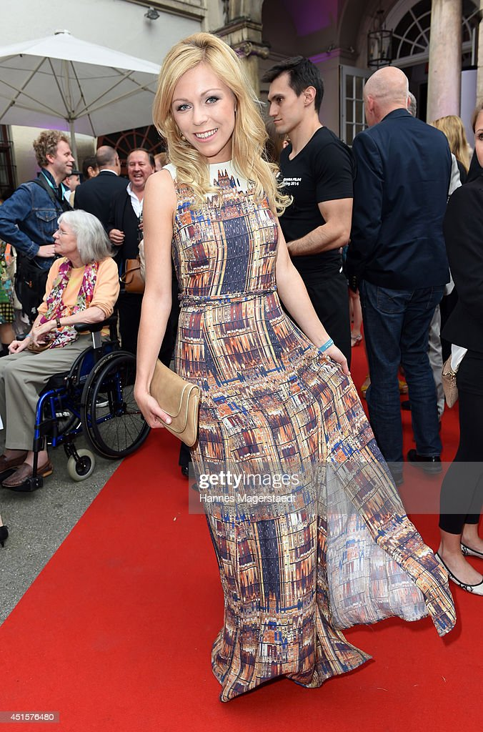 Anna Ewelina attends the Bavaria Reception at the Kuenstlerhaus as part of the Munich Film Festival 2014 on July 1, 2014 in Munich, Germany.
