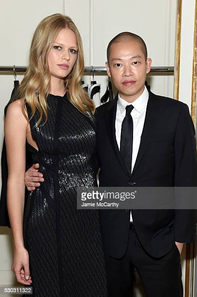 Anna Ewers and Jason Wu attend the launch of Boss The Scent on May 10 2016 in New York City