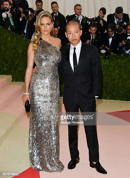 Anna Ewers and Jason Wu attend the 'Manus x Machina Fashion in an Age of Technology' Costume Institute Gala at the Metropolitan Museum of Art on May...