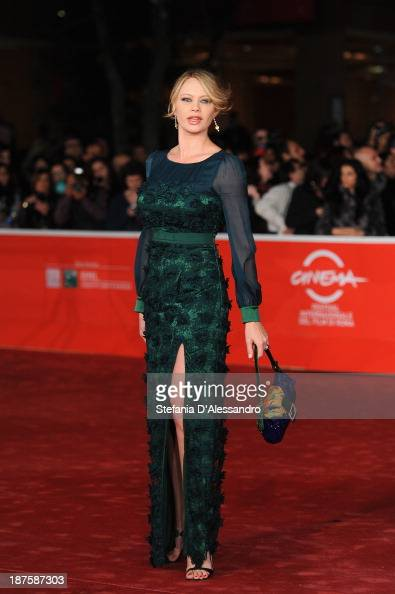 Anna Falchi attends 'Come Il Vento' Premiere during The 8th Rome Film Festival on November 10 2013 in Rome Italy