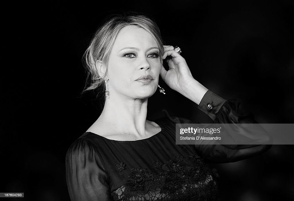 Anna Falchi attends 'Come Il Vento' Premiere during the 8th Rome Film Festival at the Auditorium Parco Della Musica on November 9 2013 in Rome Italy
