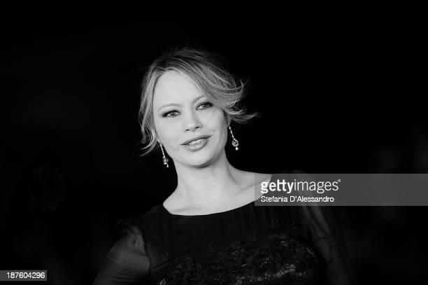 Anna Falchi attends 'Come Il Vento' Premiere during the 8th Rome Film Festival at the Auditorium Parco Della Musica on November 9 2013 in Rome Italy