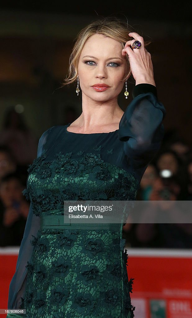 Anna Falchi attends 'Come Il Vento' Premiere during The 8th Rome Film Festival on November 10 2013 in Rome Italy