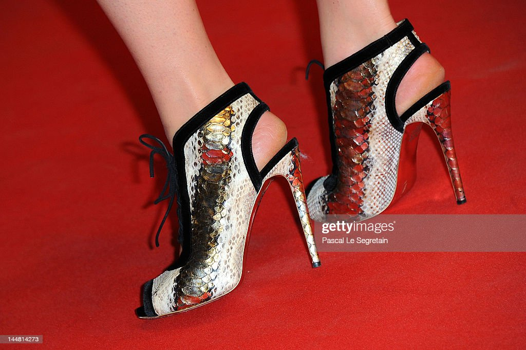 Anna Falchi attends the 'Dario Argento's Dracula 3D' Premiere during the 65th Annual Cannes Film Festival at Palais des Festivals on May 19 2012 in...