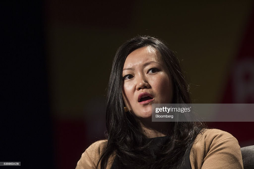 Anna Fang, partner and chief executive officer of ZhenFund, speaks during the Rise conference in Hong Kong, China, on Tuesday, May 31, 2016. The conference runs through June 2. Photographer: Justin Chin/Bloomberg via Getty Images