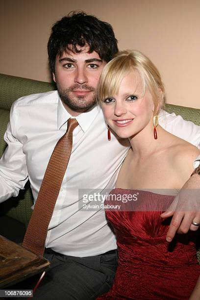 Anna Faris and husband Ben Indra during Dimension Films' 'Scary Movie 4' inside afterparty at Providence in New York New York United States