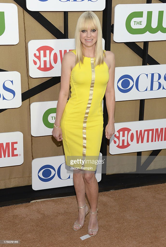 Anna Faris attends the CW, CBS And Showtime 2013 Summer TCA Party on July 29, 2013 in Los Angeles, California.