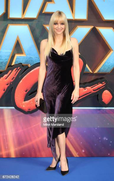 Anna Faris attends the European Gala Screening of 'Guardians of the Galaxy Vol 2' at Eventim Apollo on April 24 2017 in London United Kingdom