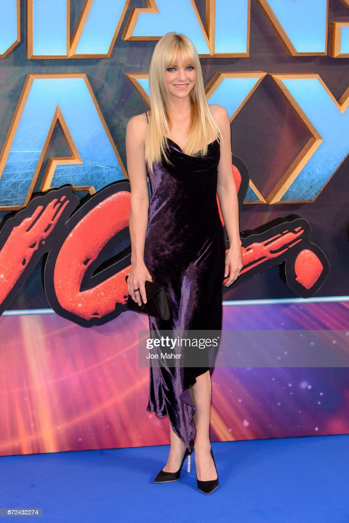 Anna Faris attends the European Gala Screening of 'Guardians of the Galaxy Vol. 2' at Eventim Apollo on April 24, 2017 in London, United Kingdom.