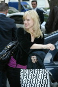 Anna Faris during Carmen Electra and Anna Faris Sighting at the Plaza Athenee Hotel in Paris April 21 2006 at Plaza Athenee Hotel in Paris France