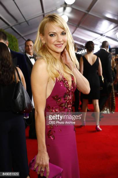 Anna Faris of MOM at the 69TH PRIMETIME EMMY AWARDS LIVE from the Microsoft Theater in Los Angeles Sunday Sept 17 on the CBS Television Network