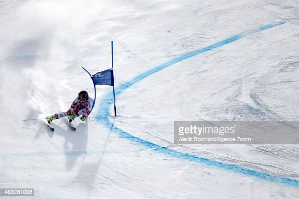 Anna Fenninger of Austria competes during the FIS Alpine World Ski Championships Women's Giant Slalom on February 12 2015 in Beaver Creek Colorado
