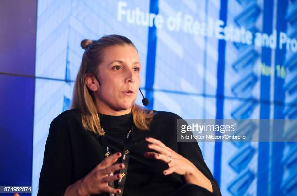 Anna Ferreira Gomes of Datscha during the Sime Awards at Epicenter on November 16 2017 in Stockholm Sweden