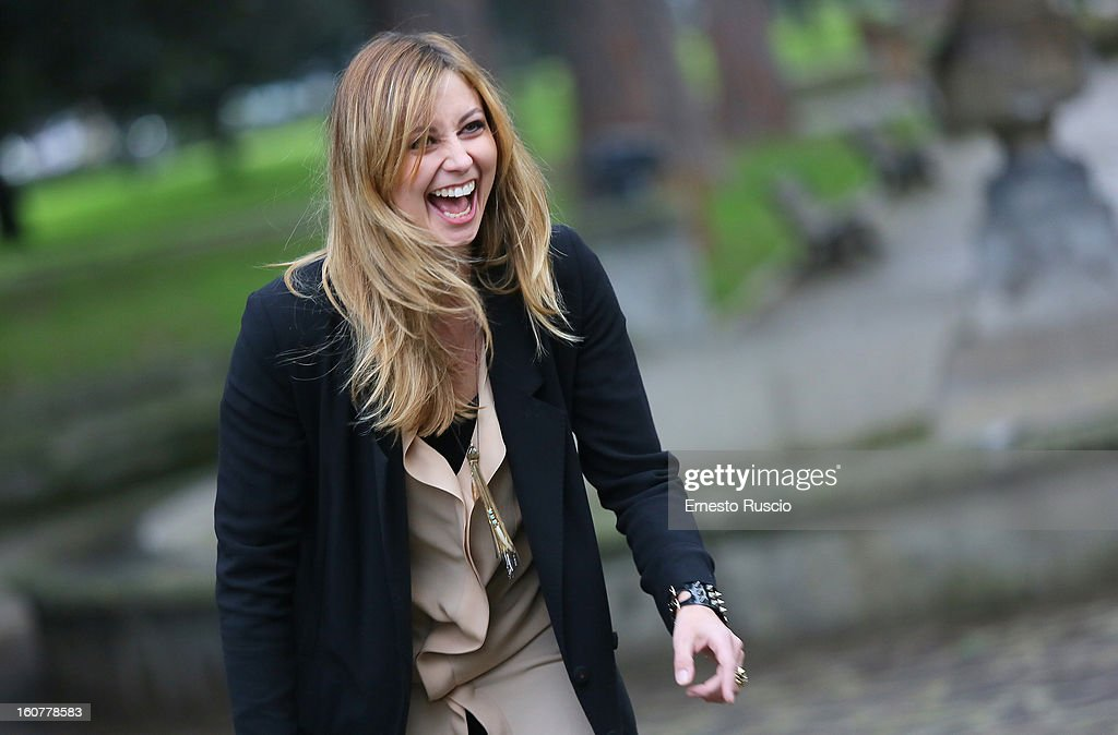 Anna Ferzetti attends the 'Una Mamma Imperfetta' photocall at Space Moderno on February 5, 2013 in Rome, Italy.