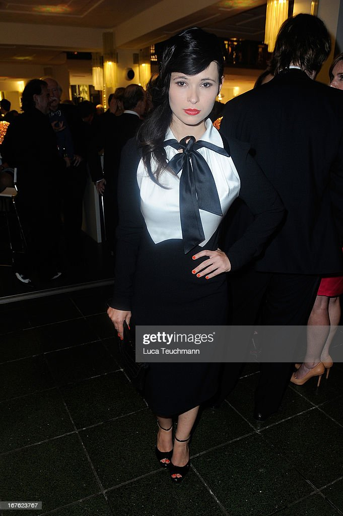 Anna Fischer attends the Lola - German Film Award 2013 - Party at Friedrichstadt-Palast on April 26, 2013 in Berlin, Germany.