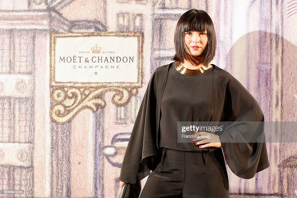 Anna Fischer attends the Moet & Chandon Grand Scores 2016 at Hotel De Rome on February 6, 2016 in Berlin, Germany.