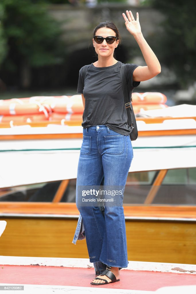 Anna Foglietta is seen during the 74th Venice Film Festival on September 3, 2017 in Venice, Italy.