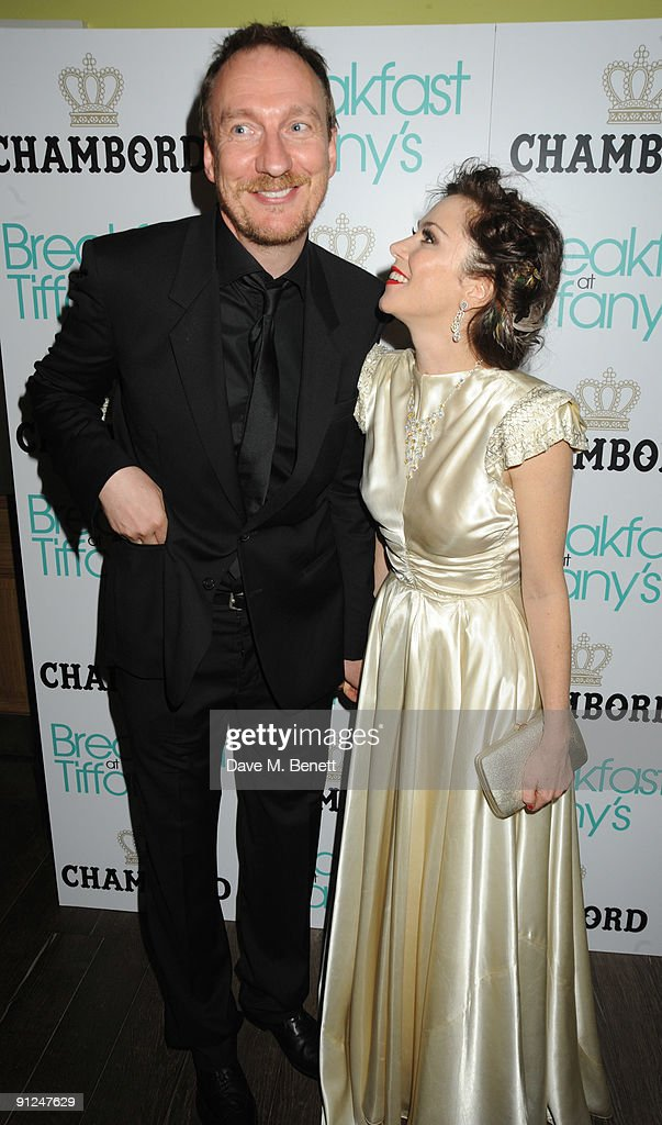Anna Friel and David Thewlis attend the afterparty following the press night of 'Breakfast At Tiffany's' at the Haymarket Hotel on September 29 2009...