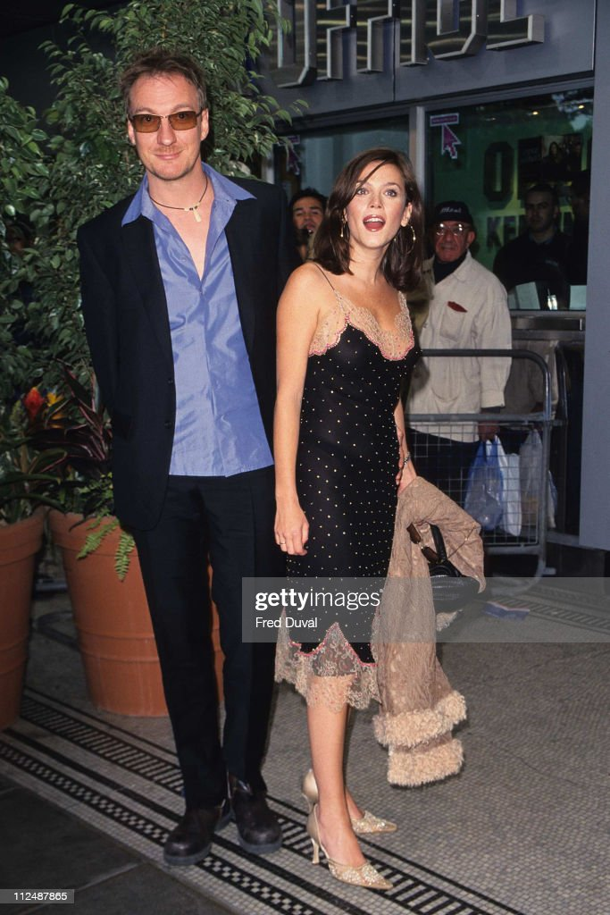 Anna Friel and David Thewlis during 'Green Fingers' London Premiere at Odeon Kensington in London United Kingdom