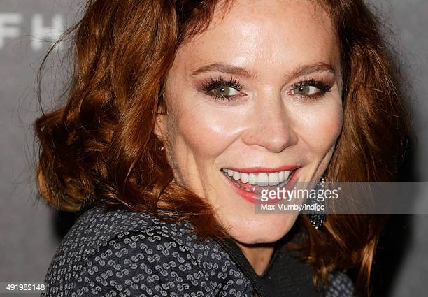 Anna Friel attends the BFI Luminous Fundraising Gala at The Guildhall on October 6 2015 in London England