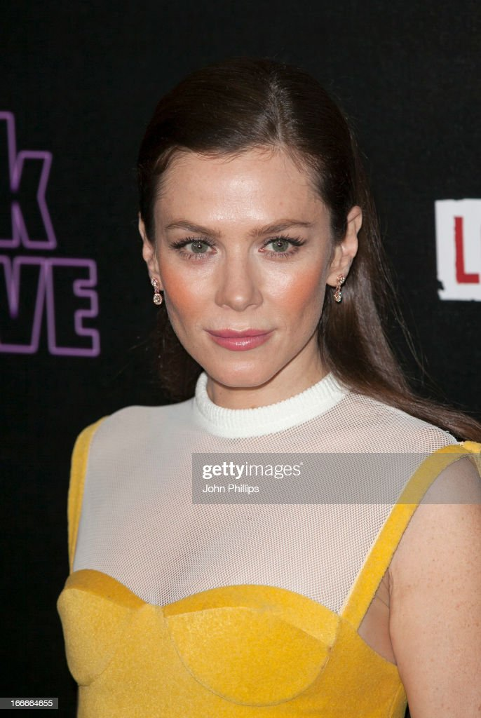 Anna Friel attends 'The Look Of Love' UK premiere at Curzon Soho on April 15 2013 in London England