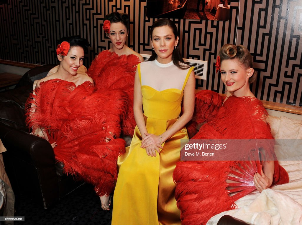 Anna Friel attends the UK Premiere of 'The Look Of Love' at the Curzon Soho on April 15 2013 in London England