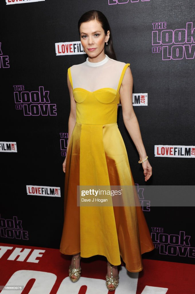 Anna Friel attends the UK premiere of 'The Look Of Love' at The Curzon Soho on April 15, 2013 in London, England.