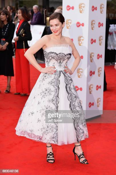 Anna Friel attends the Virgin TV BAFTA Television Awards at The Royal Festival Hall on May 14 2017 in London England