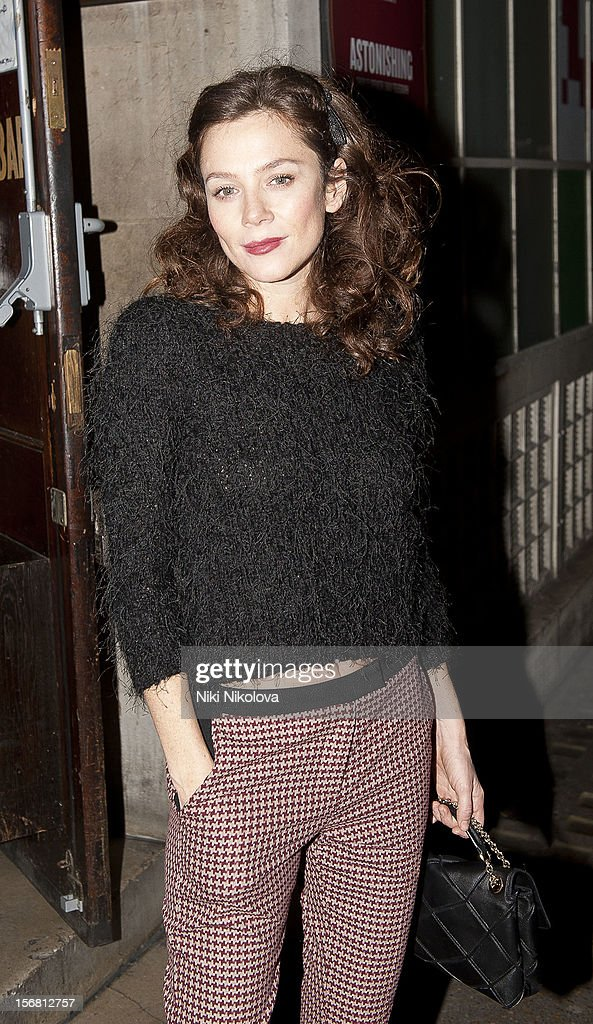 Anna Friel sighting on November 21, 2012 in London, England.