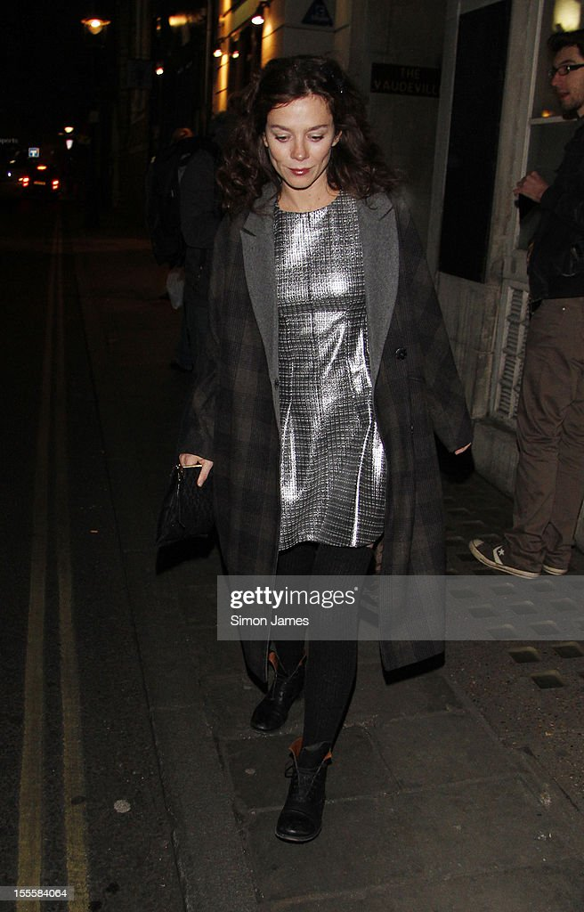 Anna Friel sighting on November 5, 2012 in London, England.